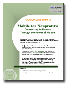 Mobile for Nonprofits Premium Supplement