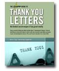 ZAPP Guide to Thank You Letters