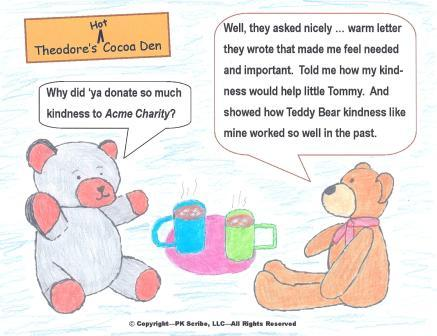 Teddy Bears & Donors are alike - 1