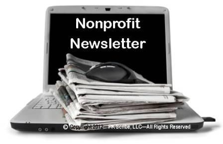 Donor-centric Nonprofit Newsletter