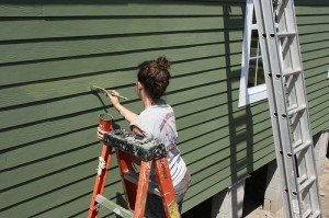 Fresh paint to nonprofit website